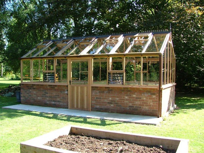 Bespoke Greenhouses Woodpecker Joinery