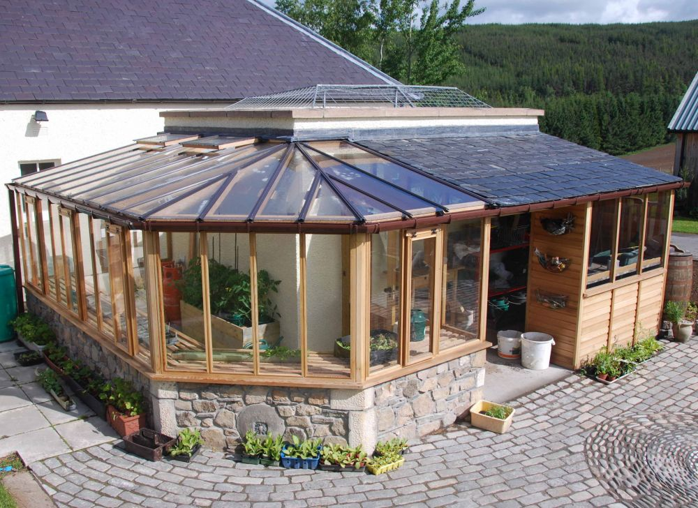 Bespoke  Lean-to Greenhouse
