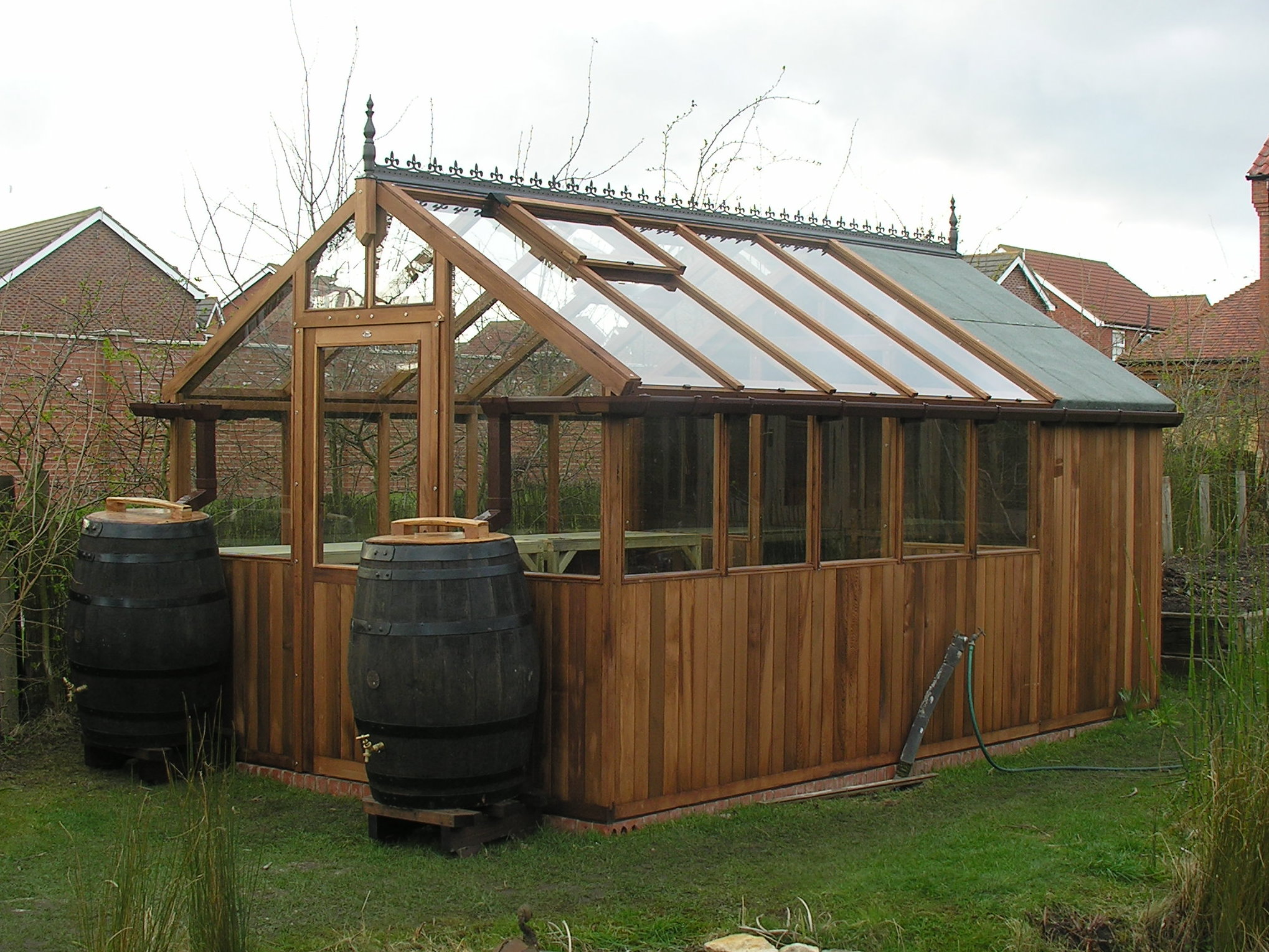 Backyard shed and greenhouse garden ideas pinterest Green house sheds