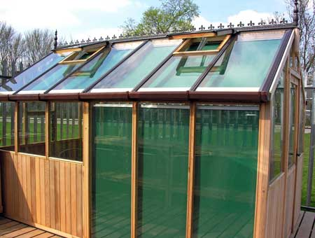 Greenhouse Bromley with Blinds