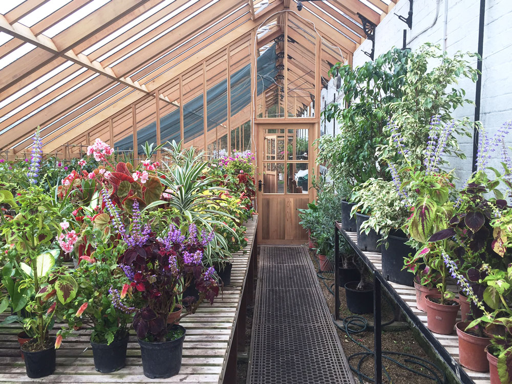 Heritage 3/4 Span Interior Partition Greenhouse