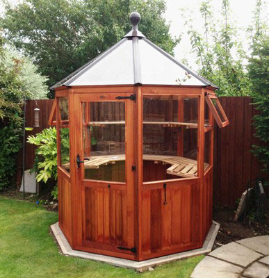 Maintainance Free Octagonal Greenhouse