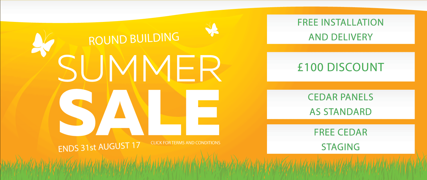 Round Building Summer Special Offer