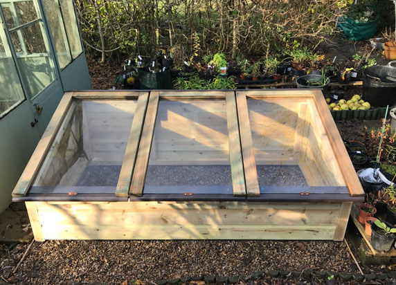 6 x 3 tanalised Coldframe