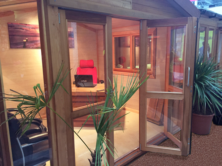 Home Office Bi Fold Doors