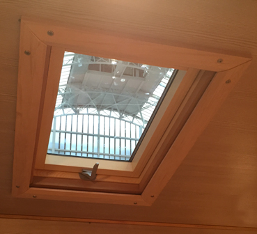 Roof Light in Home Office