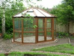 Large Round Cedar Greenhouse