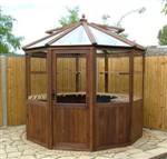 Decagonal Cedar Greenhouse