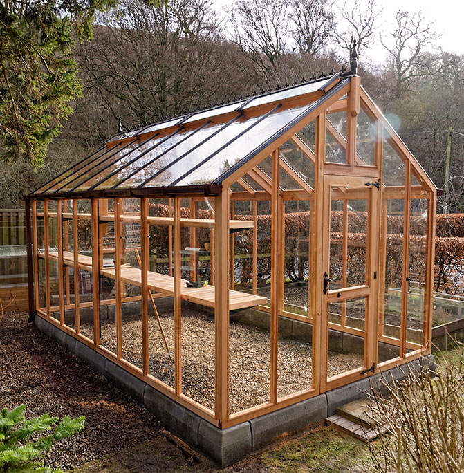 Chartley Greenhouse Staging