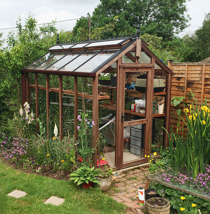 Chartley Greenhouse 6ft x 6ft