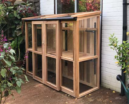 Tall Cedar Coldframe with UK Delivery