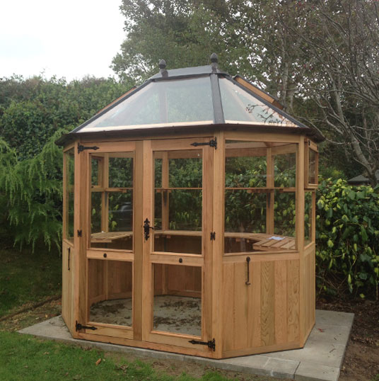 Maintainance Free Stramshall Octagonal Greenhouse