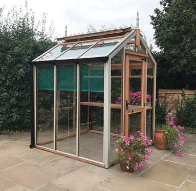Low Maintenance Timber Greenhouse