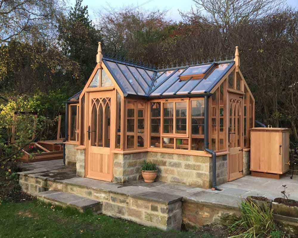 Woodpecker Joinery Cedar Greenhouses Wooden Garden Buildings