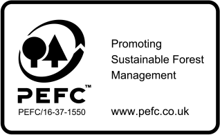 Woodpecker Joinery PEFC Logo
