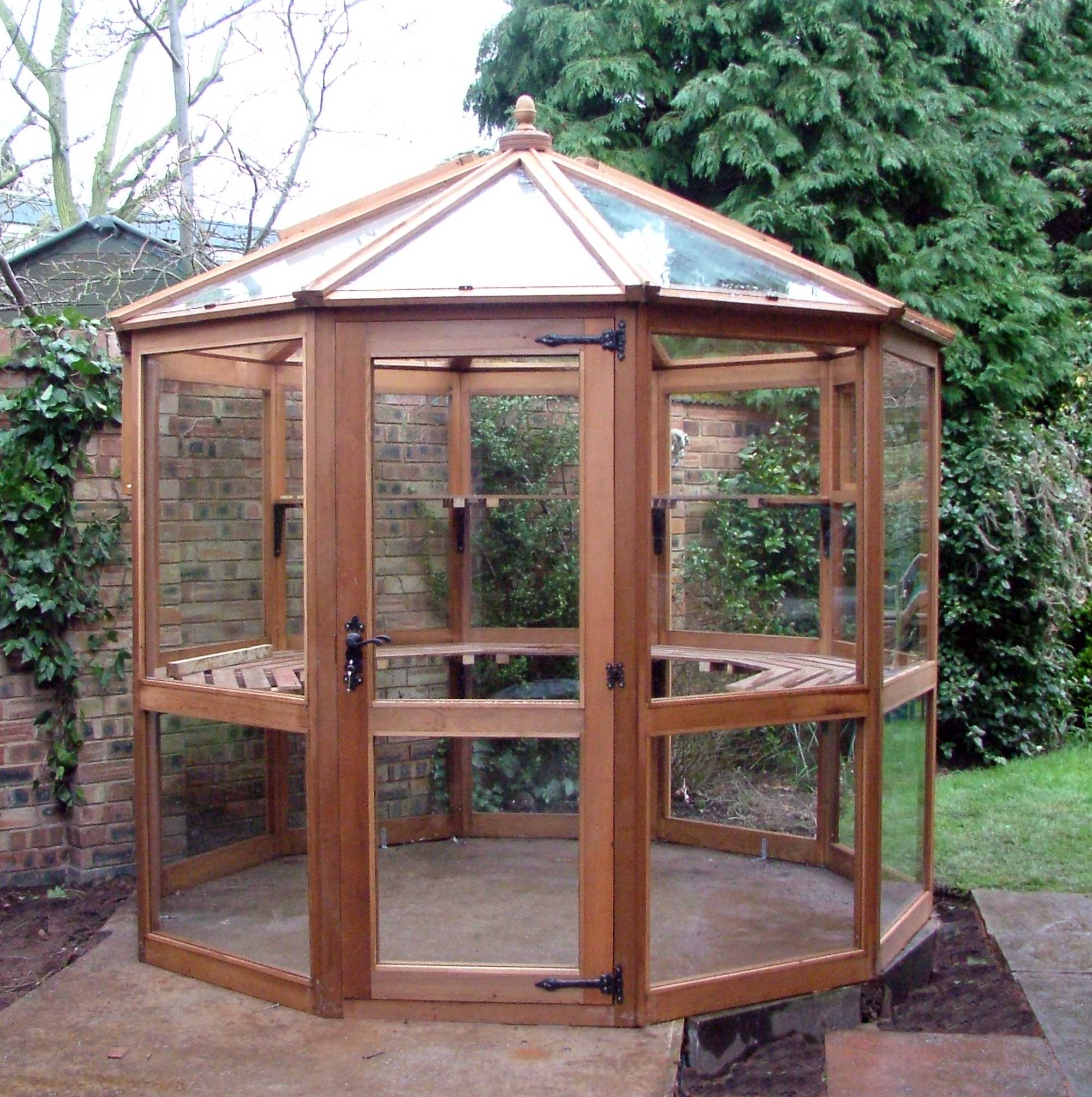 Dagdale Greenhouse with Toughened Safety Glass