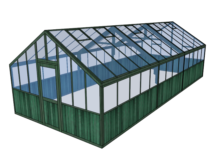 Ex Display Greenhouse Drawing