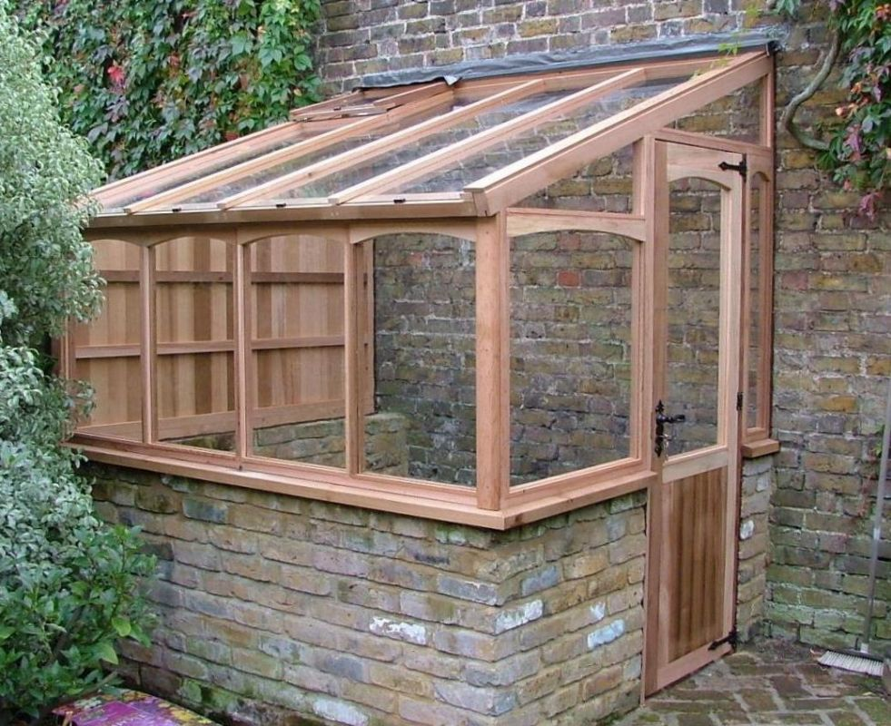 Victorian Lean To Greenhouse Plans