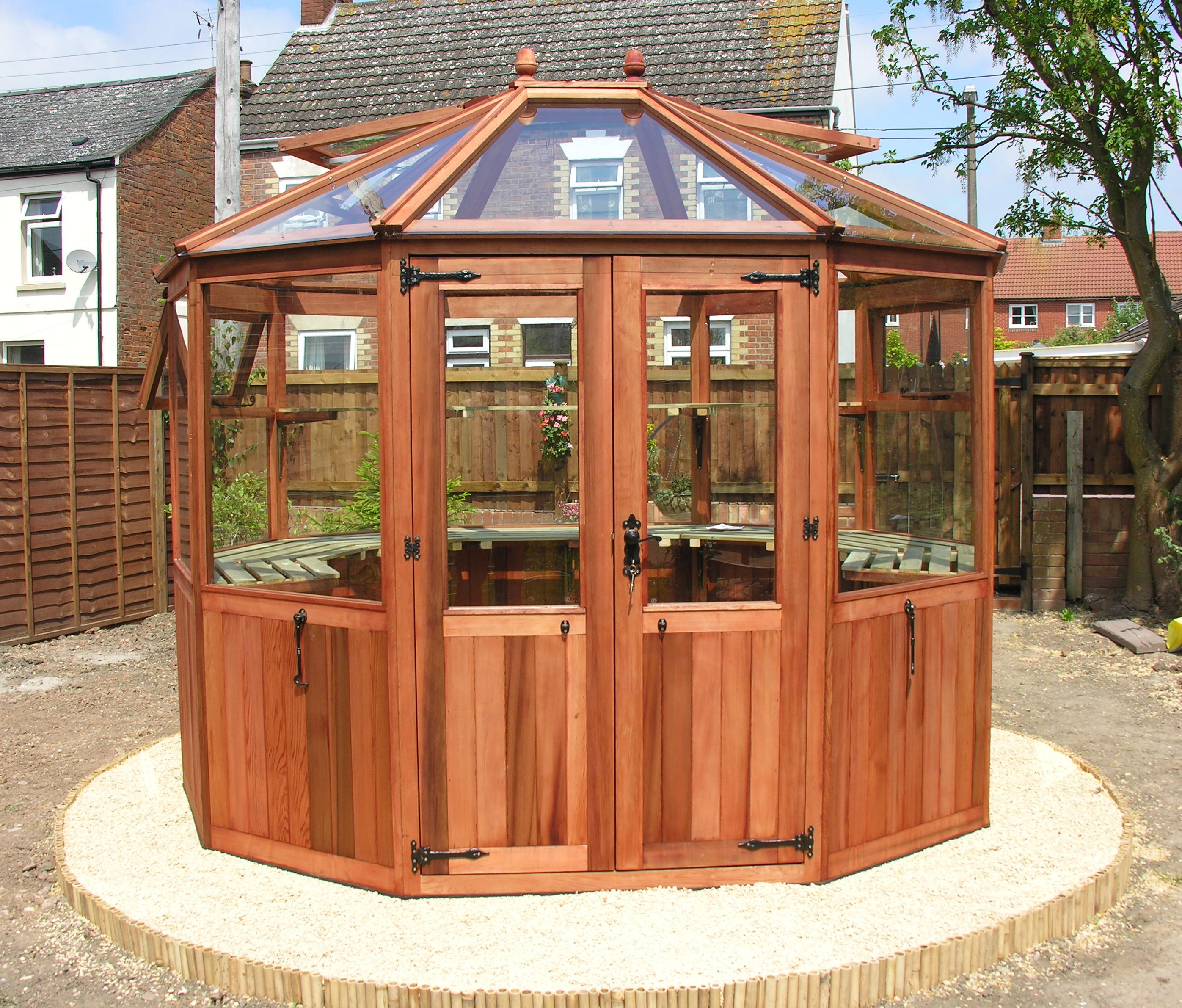 Loxley woodpecker joinery uk ltd for Octagonal greenhouse plans