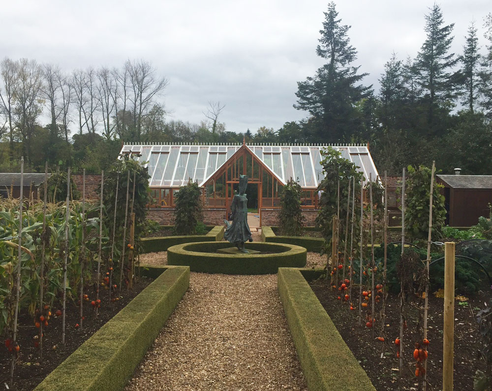 Heritage timber greenhouse