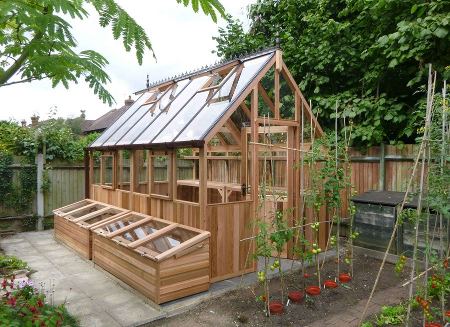 Kings bromley woodpecker joinery uk ltd for Garden greenhouse design