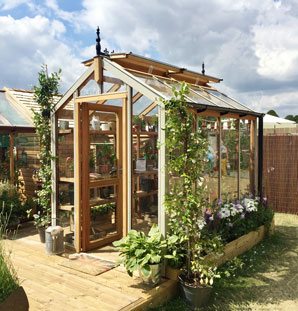 New Maintenance Free Chartley Greenhouse