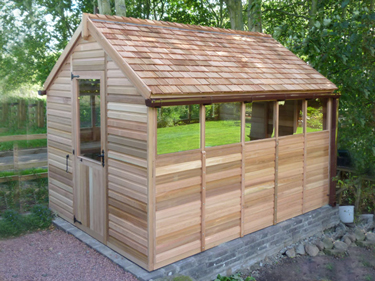 Traditional Cedar Shed