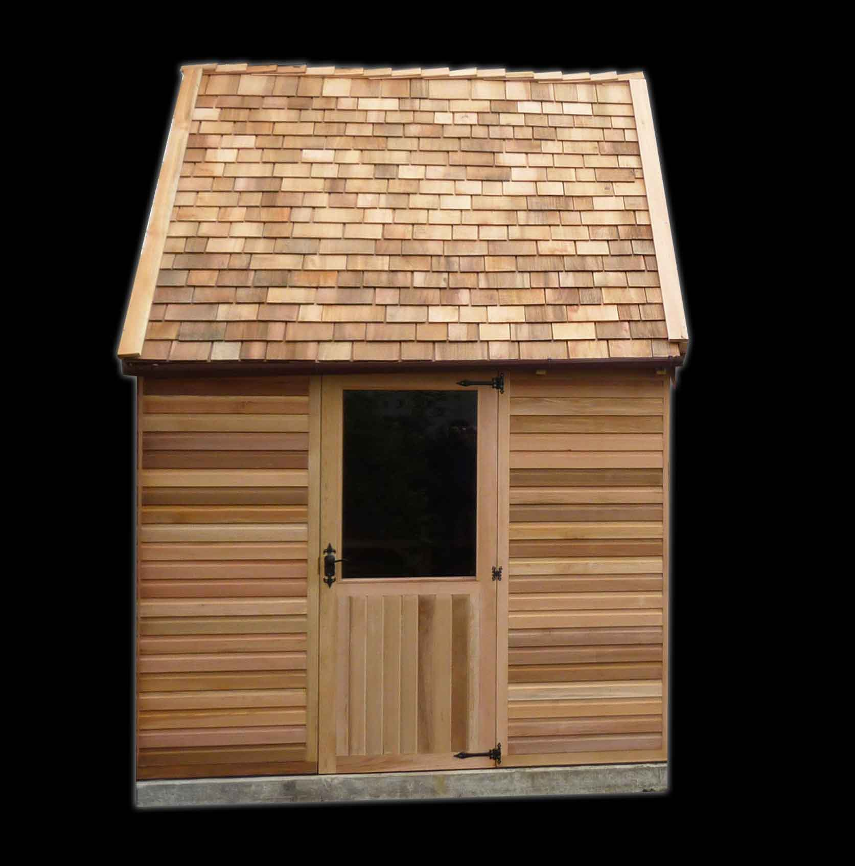 Traditional Summer House Woodpecker Joinery