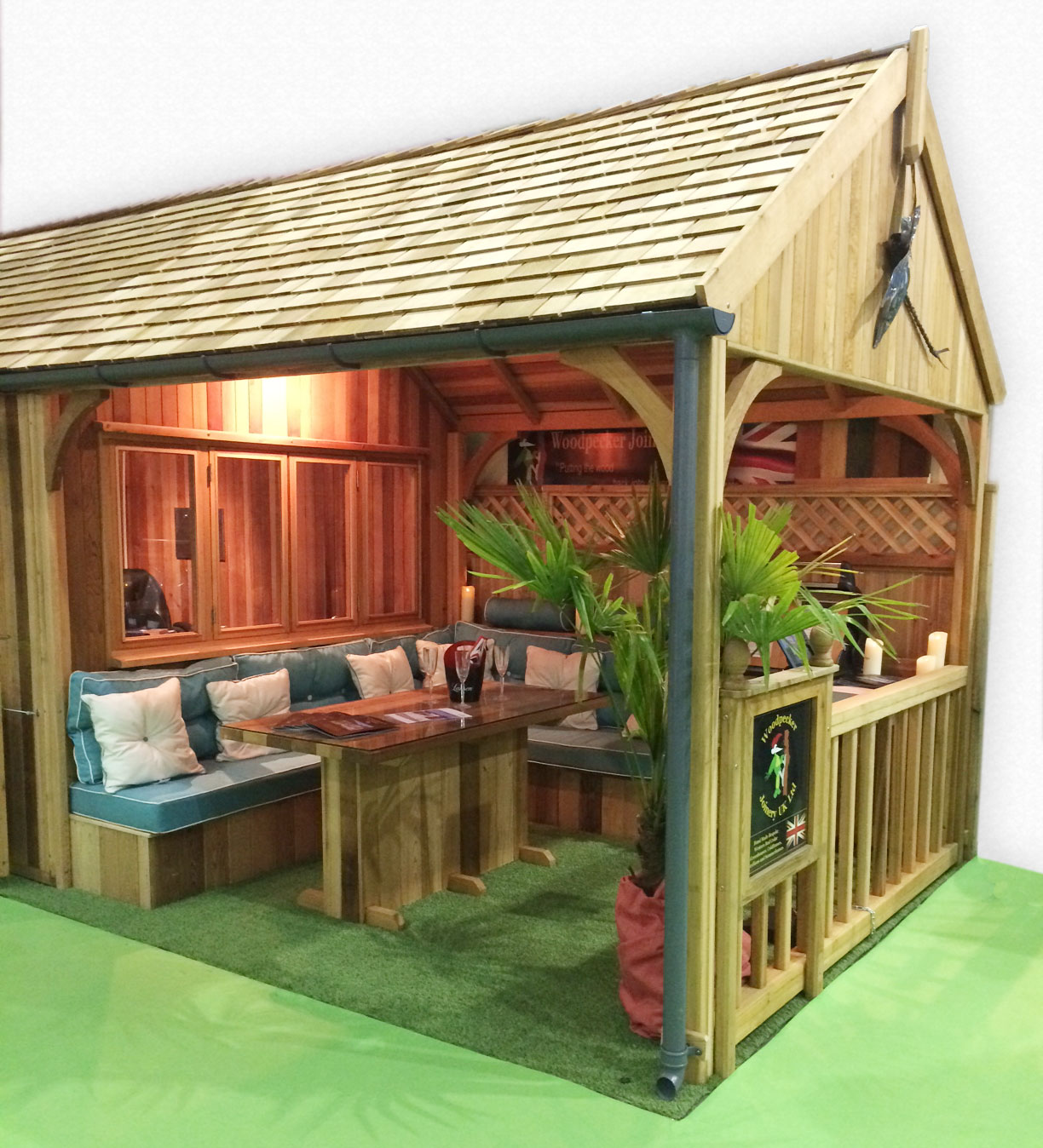 Verandah on lean to sheds ireland