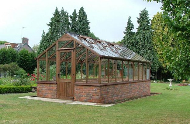 20ft x 10ft bespoke greenhouse