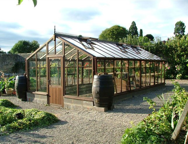 24ftx12ft bespoke greenhouse