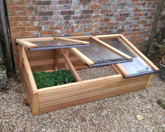 Cedar Coldframes – Woodpecker Joinery UK LTD