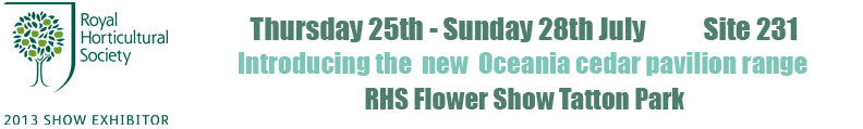 RHS Tatton Park Flower Show 2013 Exhibitor