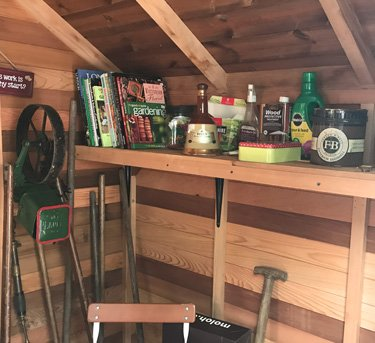 Shed combo Interior