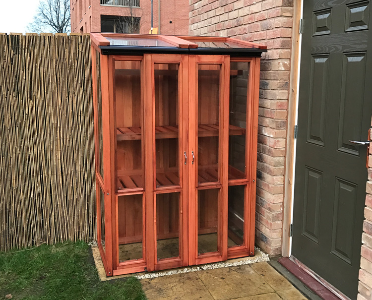 Wooden Tall Cold frame Red Cedar 6ft Tall Model