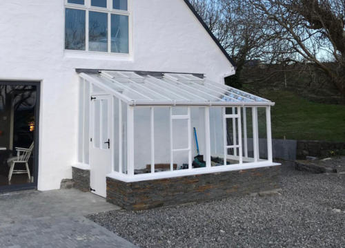 9-x-14-White-Painted-Lean-to-glasshouse